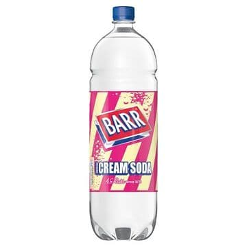 Barr American Cream Soda 2 Ltr Bottle (UK)