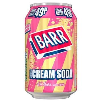 Barr American Cream Soda 330ml