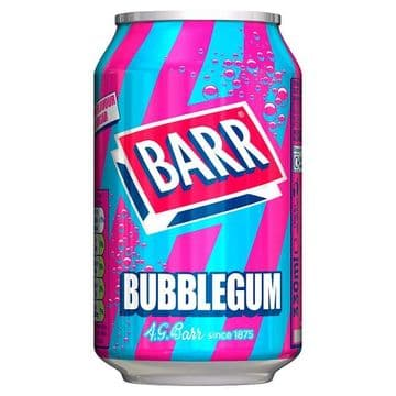 Barr Bubblegum 330ml PM49p (UK)