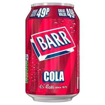Barr Cola 330ml  (UK)