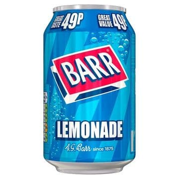 Barr Lemonade 330ml Can (UK)