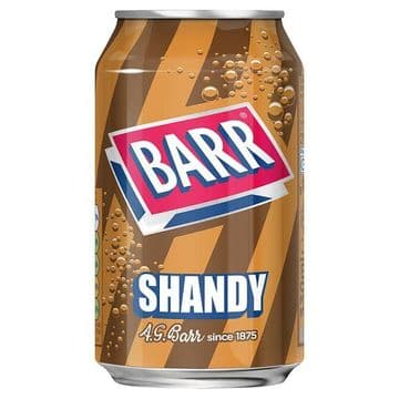 Barr Shandy 330ml Can (UK)