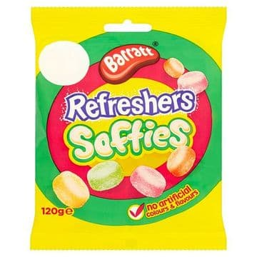 Barratt Refreshers Softies 120g Packet (UK)
