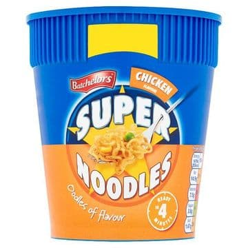 Batchelors Super Noodles Chicken Flavour 75g (UK)