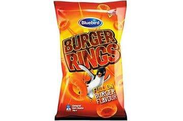 Bluebird Burger Rings (120g) ( New Zealand )