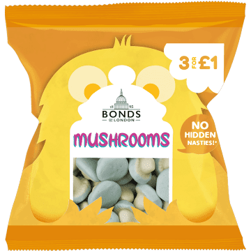 Bonds Mushrooms 50g ( UK )