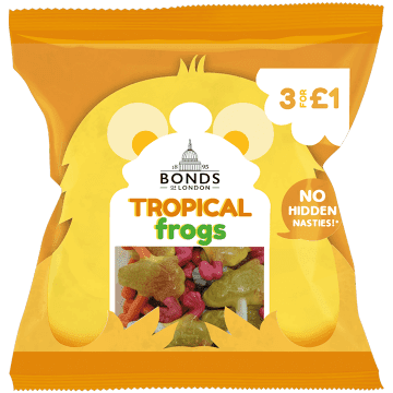 Bonds Tropical Frogs 50g ( UK )
