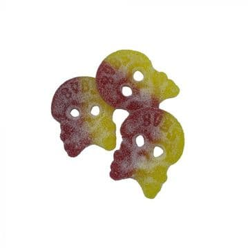 BUBS Big Sour Skulls Sweets 100g ( Sweden )