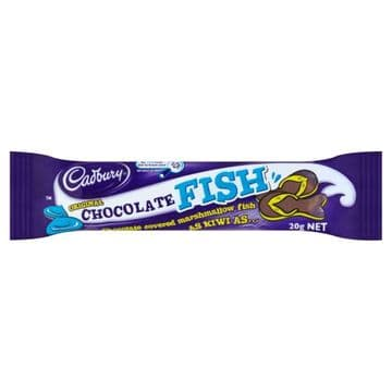Cadbury Chocolate Fish (20g)  ( New Zealand )