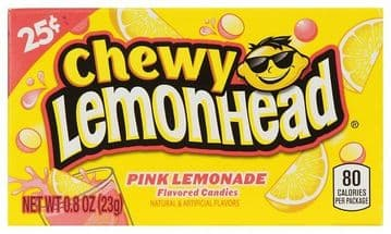 Chewy Lemonhead Pink Lemonade Mini Box (US)