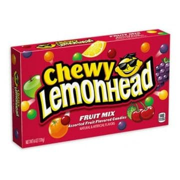 Chewy Lemonheads Fruit Mix Theatre Box 5oz (US)