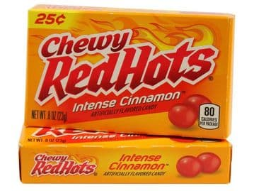 Chewy RedHots Intense Cinnamon Mini Box 0.8oz (23g) (US)