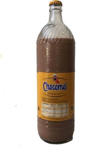 Chocomel 1ltr Glass Bottle (Netherlands)