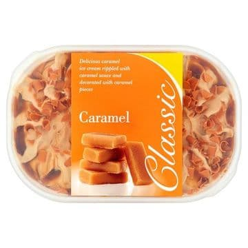 Classic Caramel Ice Cream 900ml ( NONE POSTAL ITEM ) (UK)