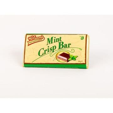 Cleeves Mint Crisp 50g Bar ( Ireland )