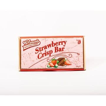 Cleeves Strawberry Crisp 50g Bar ( Ireland )