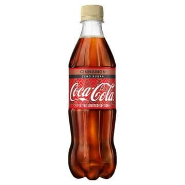 Coca-Cola Zero Sugar Cinnamon 500ml ( UK )