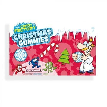Crazy Candy Factory Christmas Gummies Theatre Box 92g ( UK )