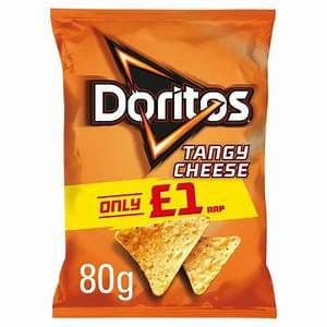 Doritos Tangy Cheese Tortilla Chips 70g (UK)