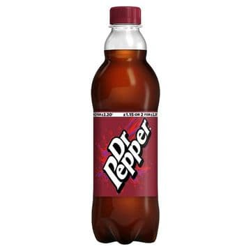 Dr Pepper 500ml (UK)