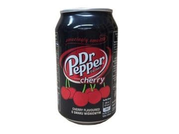Dr Pepper Cherry 330ml ( Poland )