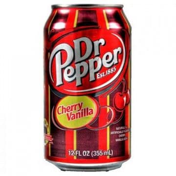 Dr Pepper Cherry Vanilla 355ml (US)