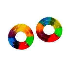 Dulce Plus Multicolour jelly Rings 100g ( Spain )