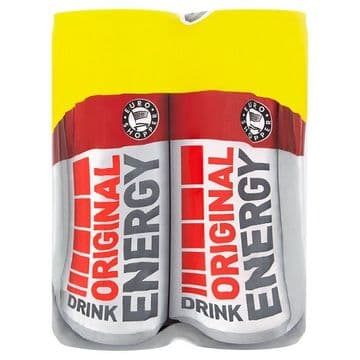 Euro Shopper Original Energy Drink 4 x 250ml (UK)