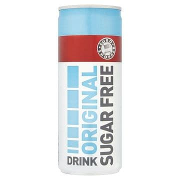 Euro Shopper Original Sugar Free Energy Drink 250ml (UK)