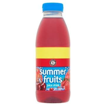 Euro Shopper Summer Fruits Juice Drink 500ml (UK)