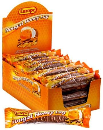 Europe Nougat/Honey Log (40g) ( Australia )