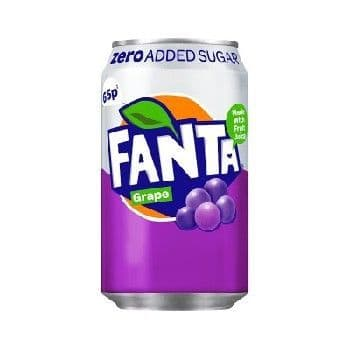 Fanta Grape Zero  (UK)