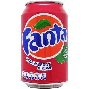 Fanta Strawberry & Kiwi 330ml (Denmark)