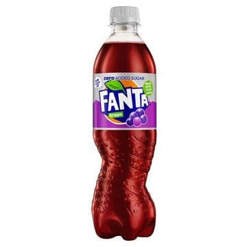 Fanta Zero Grape 500ml (UK)