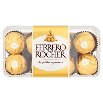 Ferrero Rocher Box of Chocolate 16 Pieces (200g) (UK)