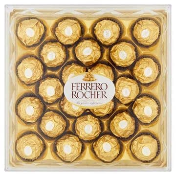 Ferrero Rocher Gift Box of Chocolate 24 Pieces (300g) (UK)