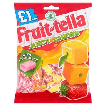 Fruittella Juicy Chews Bag 135g (UK)