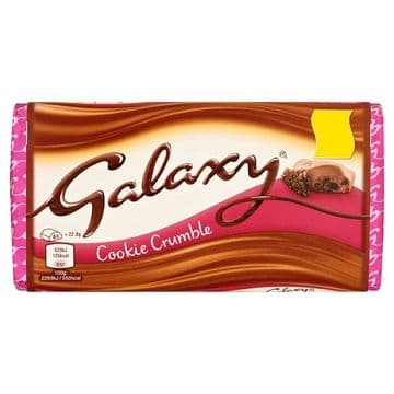 Galaxy Cookie Crumble 114g (UK)