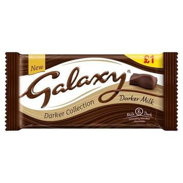 Galaxy Darker Milk Chocolate  110g (UK)