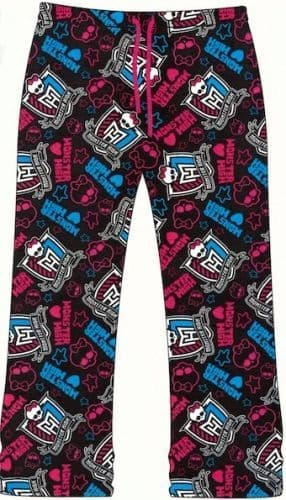 "Girls Official ""Monster High"" Character Lounge Pants"