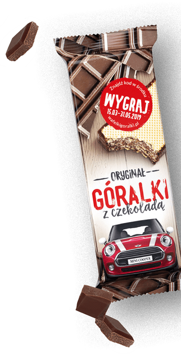 Goralki Chocolate Wafer Bar 50g (Poland)