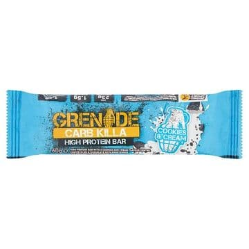 Grenade Carb Killa High Protein Bar Cookies & Cream 60g (UK)