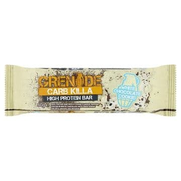 Grenade Carb Killa High Protein Bar White Chocolate Cookie 60g (UK)