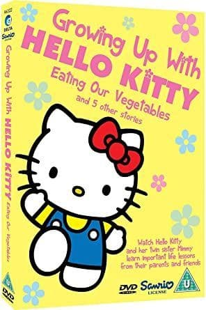 Growing Up With Hello Kitty - Eating Our Vegetables and 5 Other Stories DVD