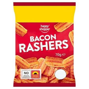 Happy Shopper Bacon Rashers 70g (UK)