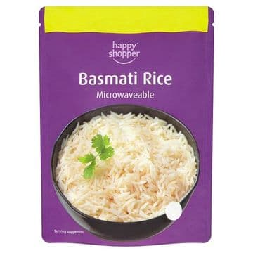 Happy Shopper Basmati Rice 250g  (UK)