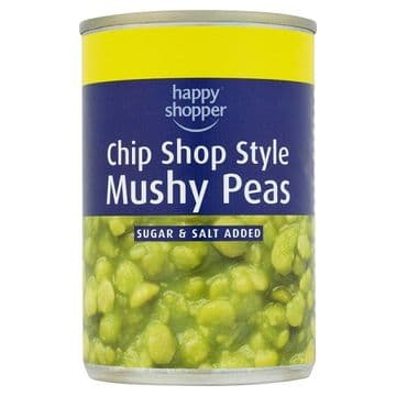 Happy Shopper Chip Shop Style Mushy Peas  (UK)