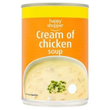 Happy Shopper Cream of Chicken Soup  (UK)