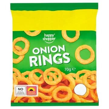 Happy Shopper Onion Rings 70g (UK)