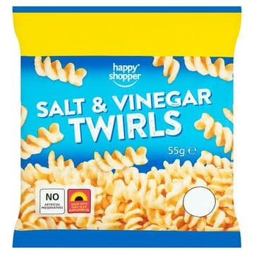 Happy Shopper Salt & Vinegar Twirls 55g (UK)